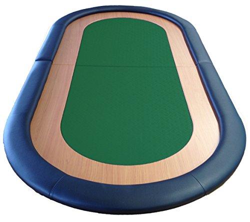 Tavolo da Poker pieghevole, adatto velocità panno in pelle superficie