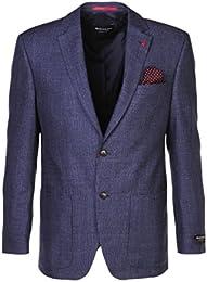 suchergebnis auf amazon de f�r benvenuto bekleidung  benvenuto herren sakko blazer leonard dunkelblau black label schurwolle