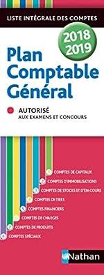 Plan comptable général - 2018/2019 de Jean-Luc Siegwart