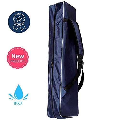 Junenoma E-Säbel komplett Fechttasche, 1680D Doppel Oxford Wasserdicht Kampfsport Fechten Schwert Tasche für Säbel Degen Florett Ausrüstung