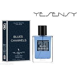 BLUES CHANNELS - Parfum pour homme - EDT 100ml
