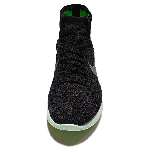 Nike Wmns Lunarepic Flyknit Lb, Scarpe da Corsa Donna Nero (Negro (Blk / Mtlc Pwtr-Anthrct-Vltg Grn))