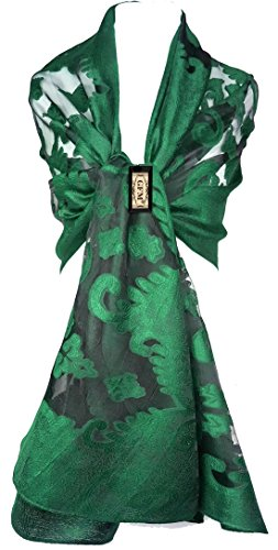 GFM - Pashmina - Femme LPST-KLGHR - Green