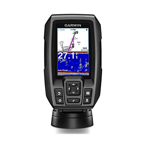 Garmin 010-01550-01 Striker 4 mit Dual-Beam Transducer Chirp-Fishfinder mit GPS