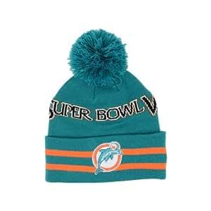 New Era Miami Dolphins Super Bowl VIII NFL Knit Hat