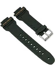 Calypso Reloj de pulsera banda de plástico negro compatible con K5608/6K5608