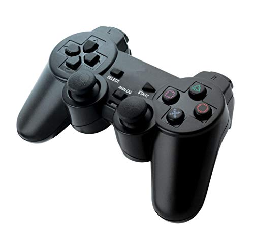 Gamepad Controller PS2 / PS3 / PC Joystick USB Game Vibration Support Pc (Windows Xp / 7/8/10) Nero
