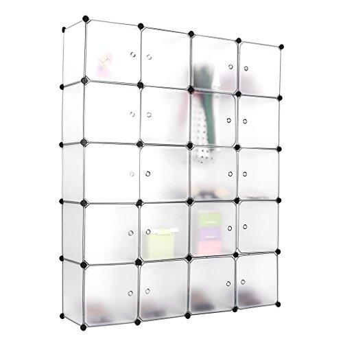 sale langria stufenregal 20kubus regalsystem lagerregal kleiderschrank garderobe mit. Black Bedroom Furniture Sets. Home Design Ideas