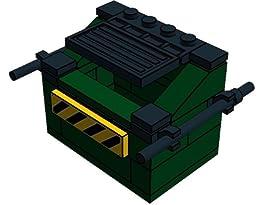 DJ Gilbert - Lego City and Modular Dumpster by DJ Gilbert