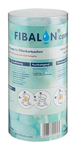FIBALON COMPACT Tube 50g - Hochwirksames Filtermaterial für Pool + Whirlpool - ersetzt Filterkartuschen