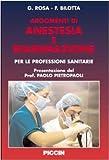 Argomenti di Anestesia e Rianimazione