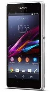 """Sony Xperia Z1 Compact Smartphone, schermo 4,3"""", Bianco [Italia]"""