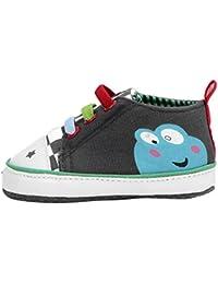 EOZY Chaussure Premier Pas Cartoon Sport Bébé Enfant Unisexe Semelles Souple Marcher Anti- glissement en Soie