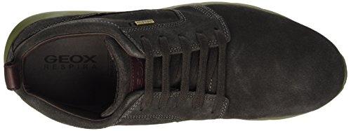 Geox U Gektor B Abx D, Sneakers Hautes Homme Braun (DK BROWNC6006)