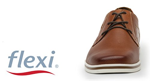 ... Para Flexi Del La Mocasines Zapatos Piel Hombre a6qEax ... 4193de6cef98