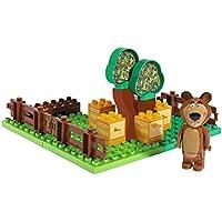 Masha y el Oso - Jardín de miel, color verde / amarillo / marrón (Simba/Big 800057092)