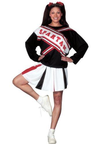 (Unbekannt Spartan Cheerleader Fancy Dress Costume Small)