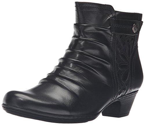 Rockport Cobb Hill Women's Abilene Boot, Black, 6 W US