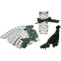 P Prettyia 10 Piezas Cajas de Dulces Ideal para Regalos Cajas de Favores Suministro de Envoltorio