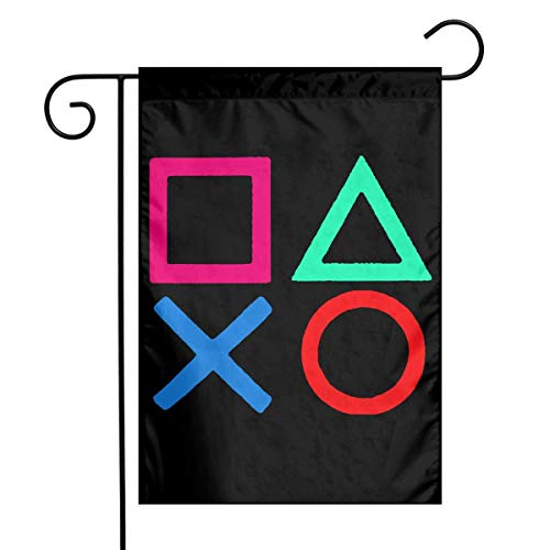 0 Playstation Joypad Garden Flag House Banner for Party Yard Home Outdoor Decor