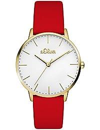 s.Oliver Damen-Armbanduhr SO-3442-LQ