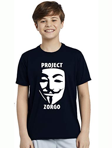 Juicytees Project ZORGO - Camiseta Infantil Unisex