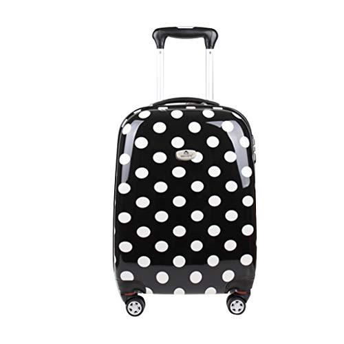 Trolley thbeibei i bagagli del pc portano la doppia chiusura lampo universale della ruota universale della valigia del carrello con alta capacità della serratura di parola d'ordine