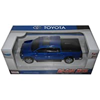Kingstoy Toyota Tundra Pickup Truck 1:36 Scale Diecast Model Car Blue 89108BL by Kings Toy