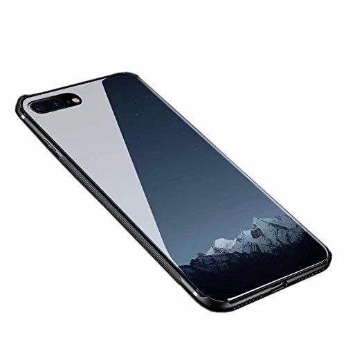 inShang iPhone 7 Plus,iPhone 8 Plus Hülle neuer Entwurf-ausgeglichenes Glas-Kasten mit 9H + super H?rte, starke Schlagfestigkeit, dünnes Case Cover iPhone 7 Plus,iPhone 8 Plus 2017 Unterstützt drahtlo 05