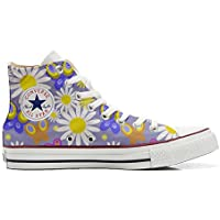 Converse All Star Customized - Zapatos Personalizados (Producto Artesano) Camomil Texture