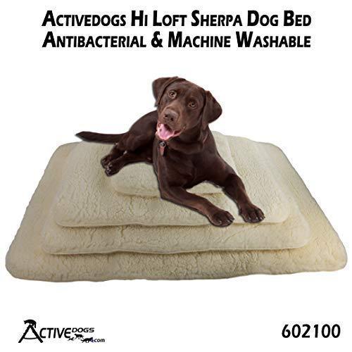 Activedogs Sherpa Hundebett, antibakteriell, maschinenwaschbar, 36
