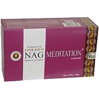 180 gms Box of GOLDEN NAG MEDITATION Agarbathi Incense Sticks - in stock and shipped by Busy Bits by Golden Nag preisvergleich bei billige-tabletten.eu