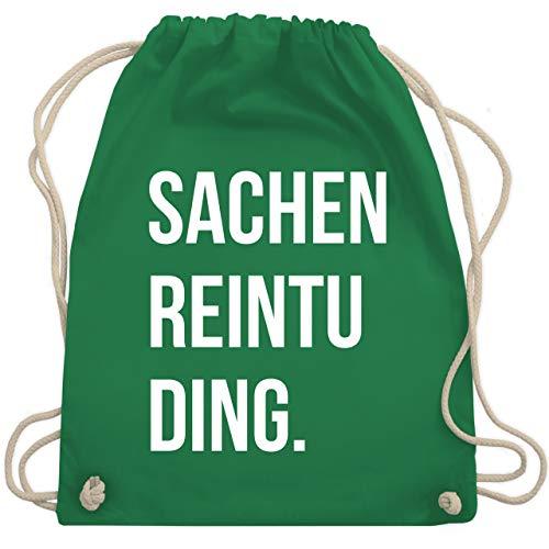 Turnbeutel - Sachenreintuding - Unisize - Grün - WM110 - Turnbeutel & Gym Bag