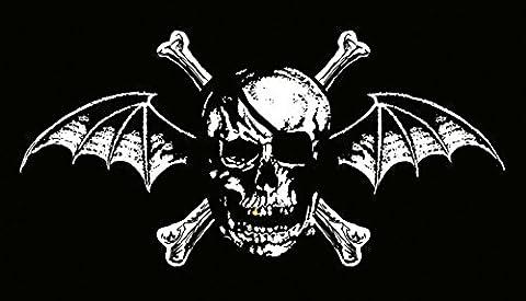 Avenged Sevenfold Poster Skull Bat Official Textile 75cm x 110cm One Size