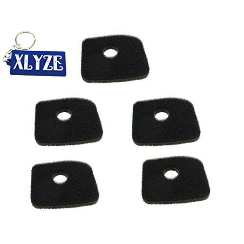 xlyze der Schaum-Luftfilter für Stihl 4241-120-1800BG56BG66BG86bg86ce bg86z bg86cez SH56SH56C SH86SH86C BR200/Bläser