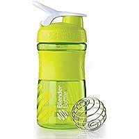 BlenderBottle Sportmixer - Bottiglia/shaker/tazza, Multicolore (Verde/Trasparente), 794