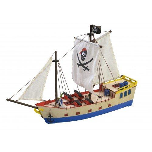 Artesanía Latina 30509 - Modell aus Holz: Piratenschiff. Kinder +8 Jahren (Piratenschiff Holz-modell-bausatz)