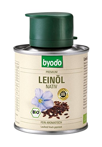 Byodo Natives Leinöl, 1er Pack (1 x 100 ml) - Bio