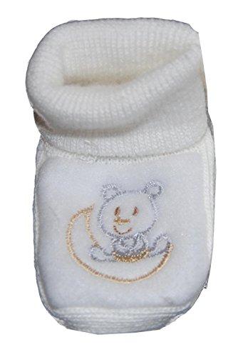 Helgas Modewelt , Chaussures souples pour bébé (fille) Weiß