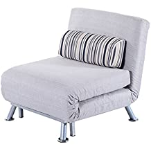 Homcom klappbarer Schlafsessel Schlafsofa Klappmatratze Faltmatratze Gästebett Klappbett Bett (Modell 5)