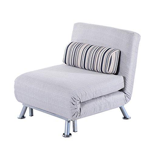 HOMCOM® klappbarer Schlafsessel Schlafsofa Klappmatratze Faltmatratze Gästebett Klappbett Bett (Modell 5)