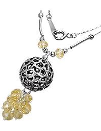Fashion Cluster Kristall Bead Kugel Charm Halskette