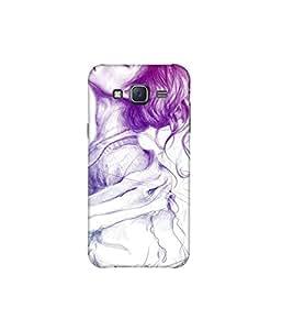 Kolor Edge Printed Back Cover For Samsung Galaxy On5 - Multicolor (8021-Ke11070SamOn5Sub)