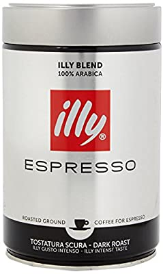 illy Dark Roast Ground Coffee