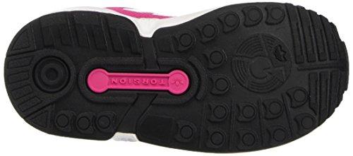 adidas Zx Flux, Chaussures Marche Bébé Fille Rose (Eqt Pink S16/Ftwr White/Core Black)
