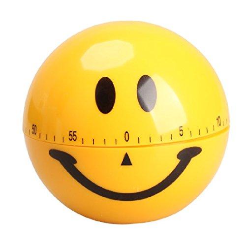 Mechanical Smiley Face Alarm-Timer 60Minuten Küche Speziell für die Küche