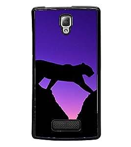 Fuson Designer Back Case Cover for Lenovo A2010 (Animal Wild Forest Rock Mountain)