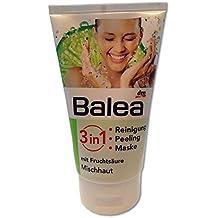 Balea 3in1 Reinigung, Peeling, Maske mit Fruchtsäure (150ml Tube)