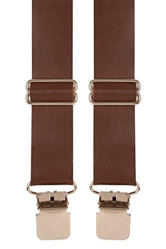 Mens Leather Work Braces (Brown ...