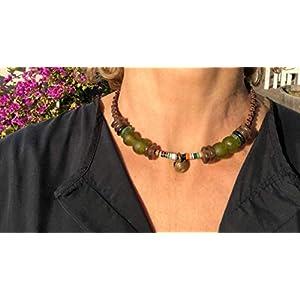 Ethnos Barcelona - Halsbandgläser und * Cofi Afrika.